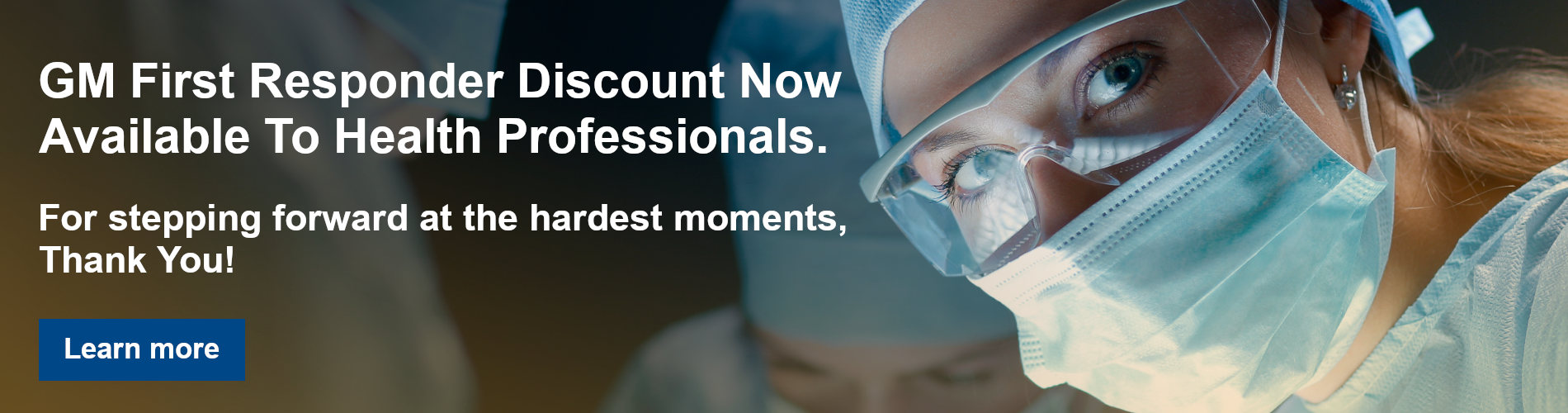 First Responder Discount for Healthcare Professionals